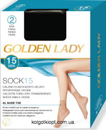 GOLDEN LADY SOCK 15 calzino 2p.