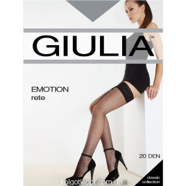GIULIA чулки EMOTION RETE