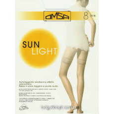 OMSA чулки SUN LIGHT 8 autoreggente