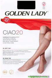 GOLDEN LADY гольфы GAMBALETTO CIAO 20 2p