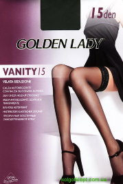 GOLDEN LADY чулки VANITY 15 autoreggente