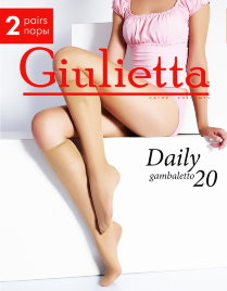 GIULIETTA гольфы DAILY 20 gambaletto