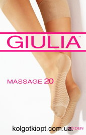 GIULIA гольфы MASSAGE 20 gambaletto